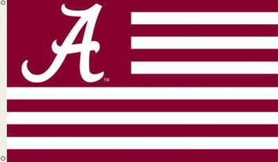 NCAA Alabama Crimson Tide Flag with Grommets