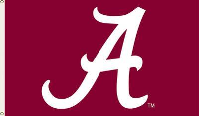 NCAA Alabama Crimson Tide Flag with Grommets