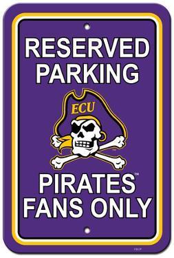 NCAA East Carolina Pirates Parking Sign
