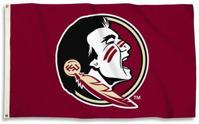 NCAA Florida State Seminoles Flag with Grommets