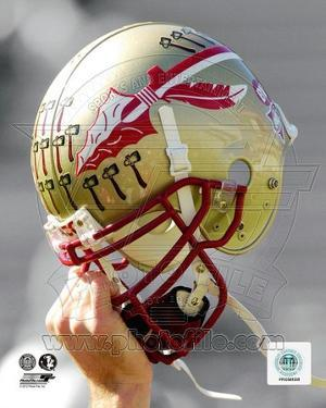 NCAA Florida State University Seminoles Helmet Spotlight