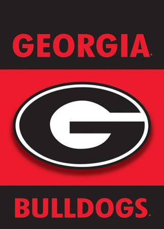 NCAA Georgia Bulldogs 2-Sided Garden Flag