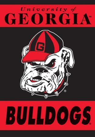 NCAA Georgia Bulldogs 2-Sided House Banner