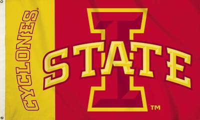 NCAA Iowa State Cyclones Flag with Grommets