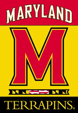 NCAA Maryland Terrapins 2-Sided House Banner