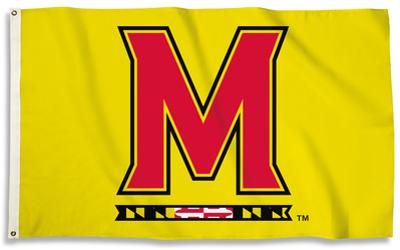 NCAA Maryland Terrapins Flag with Grommets
