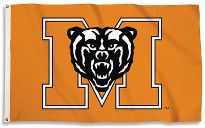 NCAA Mercer Bears Flag with Grommets