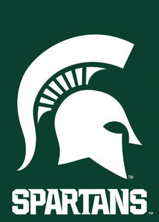 NCAA Michigan State Spartans 2-Sided Garden Flag