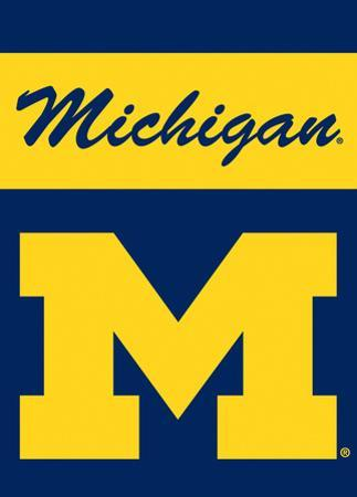 NCAA Michigan Wolverines 2-Sided Garden Flag