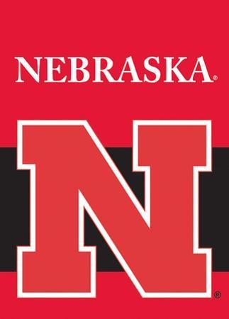 NCAA Nebraska Cornhuskers 2-Sided Garden Flag