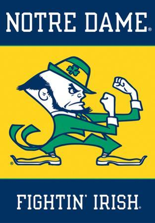 NCAA Notre Dame 2-Sided House Banner