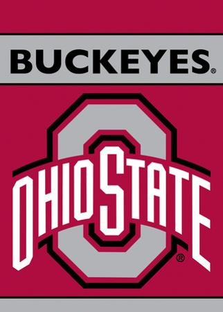 NCAA Ohio State Buckeyes 2-Sided Garden Flag