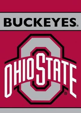 NCAA Ohio State Buckeyes 2-Sided Garden Flag