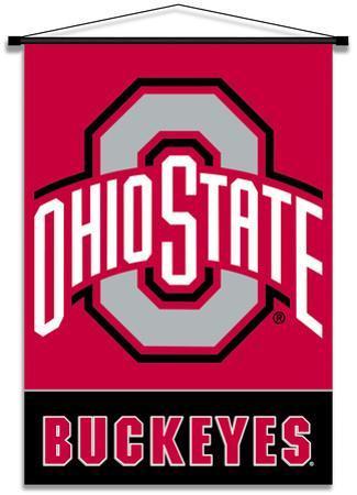 NCAA Ohio State Buckeyes Indoor Banner Scroll