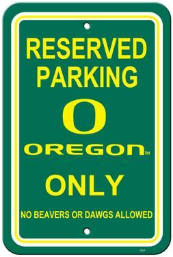 NCAA Oregon Ducks Parking Sign