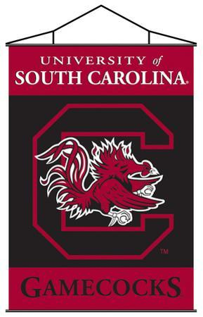 NCAA South Carolina Gamecocks Indoor Banner Scroll
