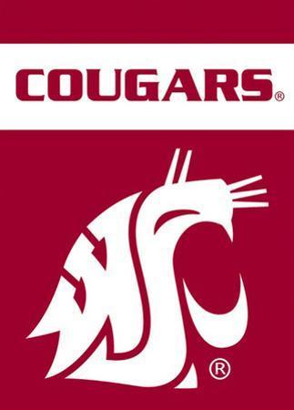NCAA Washington State Cougars 2-Sided Garden Flag