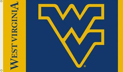 NCAA West Virginia Mountaineers Flag with Grommets