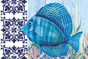 Blue Fish by ND Art