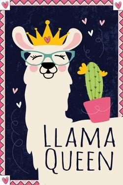 Llama Queen by ND Art