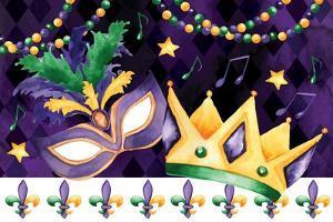 Mardi Gras III by ND Art
