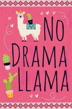 No Drama Llama by ND Art