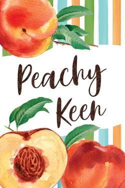 Peachy Keen by ND Art