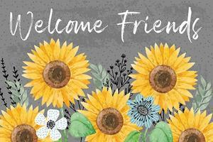 Welcome Friends by ND Art