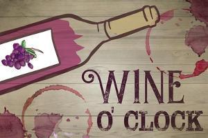 Wine O' Clock by ND Art