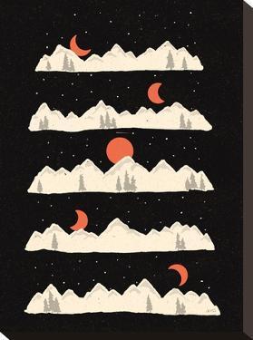 Moon Rises Moon Sets by NDTank
