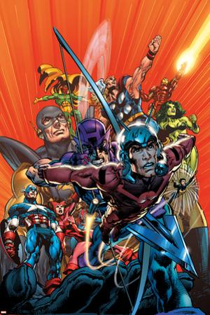 Avengers Finale No.1 Cover: Ant-Man by Neal Adams