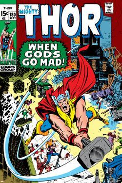 Thor No.180 Cover: Thor by Neal Adams