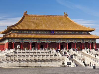 Hall of Supreme Harmony, Outer Court, Forbidden City, Beijing, China, Asia by Neale Clark