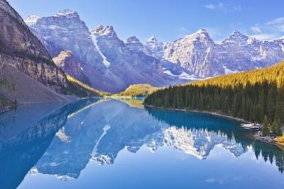 Moraine Lake Reflections in the Valley of the Ten Peaks by Neale Clark