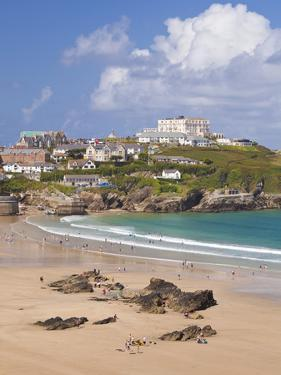 Newquay Beach in Summer, Cornwall, England, United Kingdom, Europe by Neale Clark
