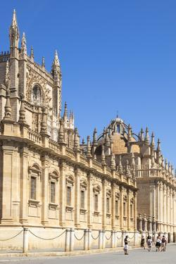 Seville Cathedral of Saint Mary of the See, Calle Fray Ceferino Gonzalez, Seville, Spain by Neale Clark