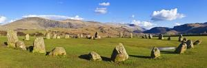 Standing Stones of Castlerigg Stone Circle Near Keswick by Neale Clark