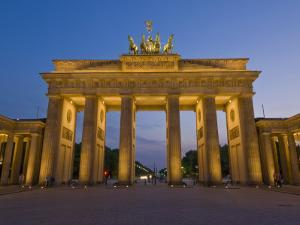 Brandenburg Gate, Pariser Platz, Berlin, Germany by Neale Clarke