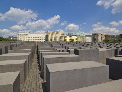 Memorial to the Murdered Jews of Europe, or the Holocaust Memorial, Ebertstrasse, Berlin, Germany
