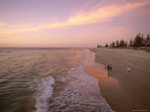 Sunset, Brighton Beach, Adelaide, South Australia, Australia by Neale Clarke