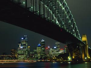 Sydney Harbour Bridge and Skyline, Sydney, New South Wales, Australia, Pacific by Neale Clarke