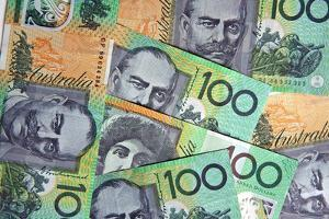 Australian 100 Dollar Bills by Neale Cousland