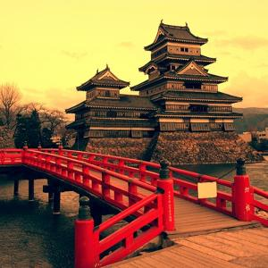 Matsumoto Castle, Japan by Neale Cousland