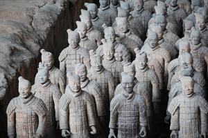 Terracotta Warriors - Xian, China by Neale Cousland