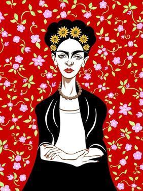 Frida Kahlo, 2018 by Neale Osborne