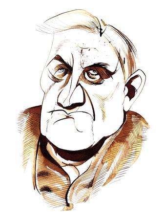 Ralph Vaughan Williams - caricature