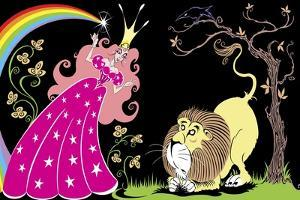 'The Wonderful Wizard of Oz': Glinda the Good Witch and the Cowardly Lion by Neale Osborne