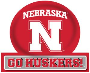 Nebraska Cornhuskers Jumbo Tailgate Peel & Stick