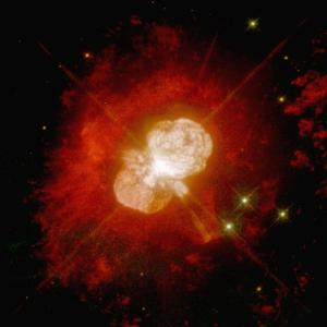 Nebula Around an Unstable Star