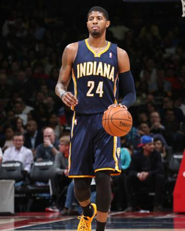 Mar 28, 2014, Indiana Pacers vs Washington Wizards - Paul George by Ned Dishman